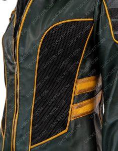 Arrow Season 8 Katie Black Canary Leather Jacket