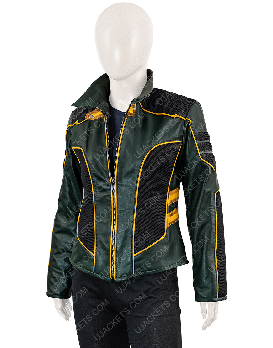 Arrow Season 8 Laurel Lance Leather Jacket