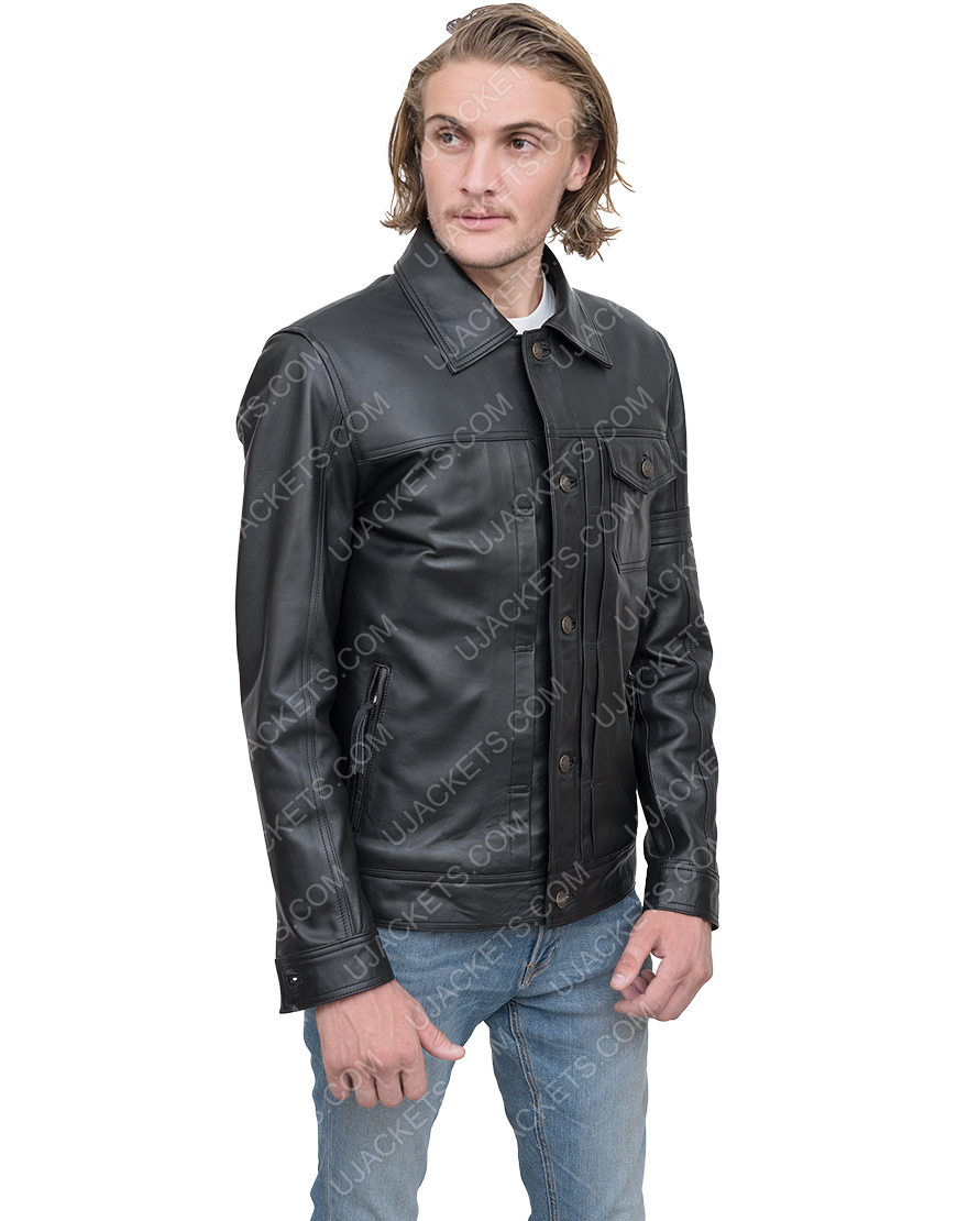 Bucky Barnes The Falcon And The Winter Soldier Leather Jacket