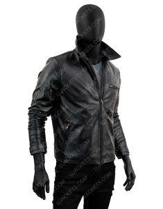 Daniel Vanity Fair Cover Black Leather Jacket