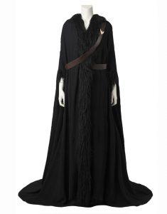 Diana Prince Wonder Woman 1984 Gal Gadot Black Long Shearling Coat