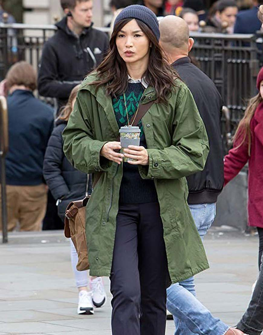Eternals-Gemma-Chan-Green-Coat