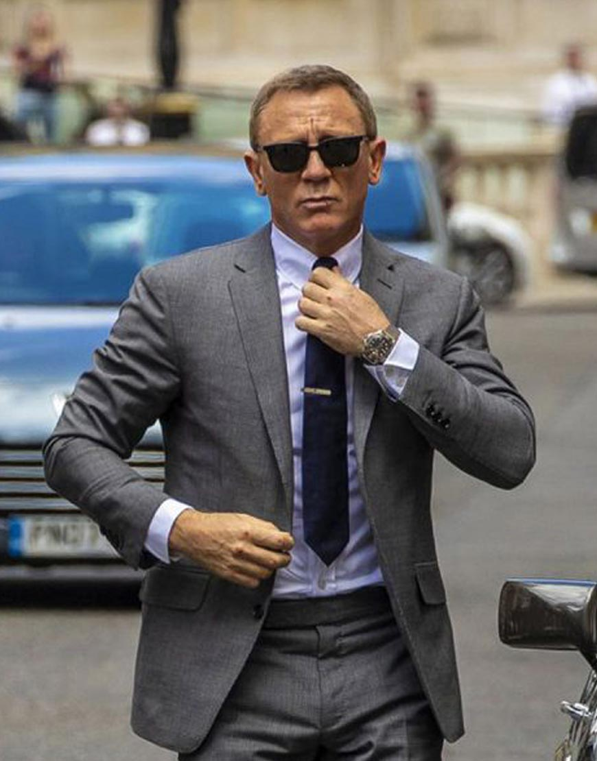 James-Bond-007-No-Time-To-Die-Glen-Check-Grey-Suit