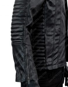 Jamie Campbell Bower The Mortal Instruments Leather Jacket