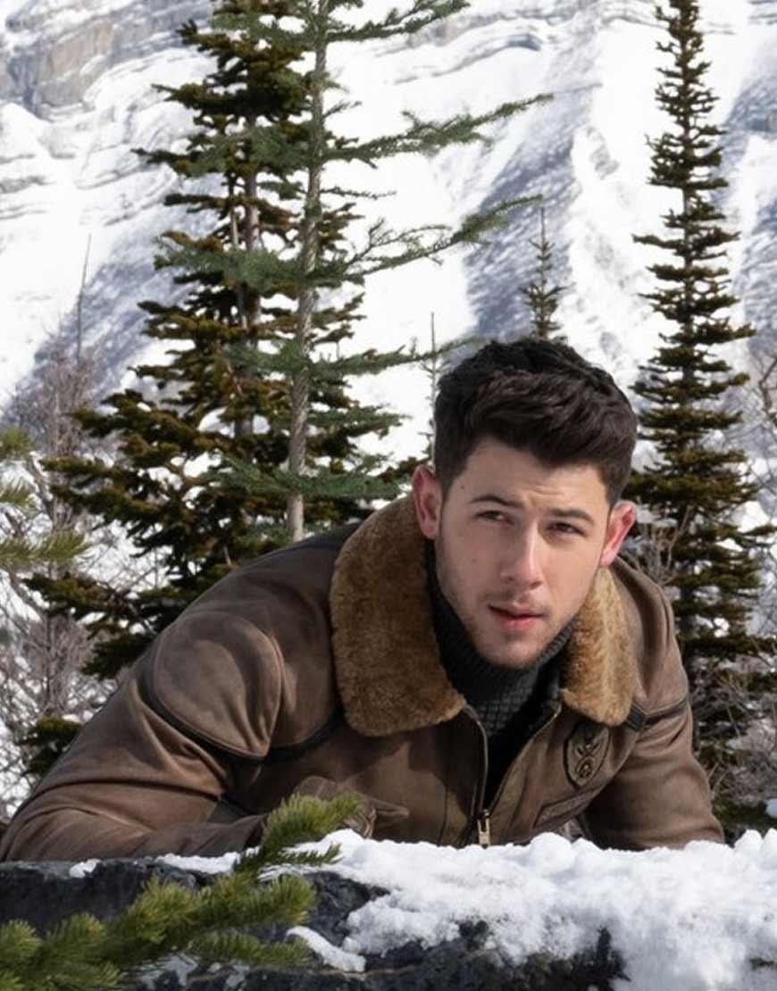 Jumanji-2-Nick-Jonas-Flight-Jacket