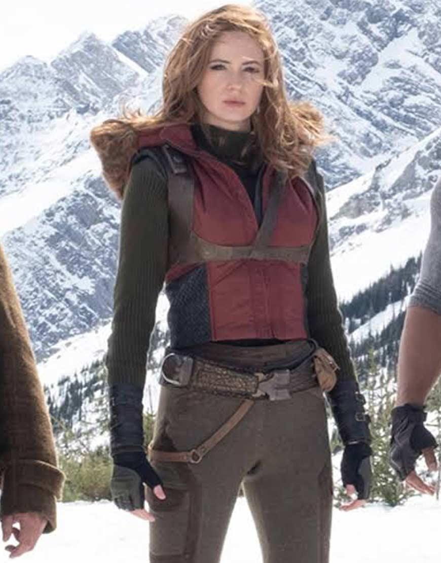 Jumanji-the-Next-level-Martha-Maroon-Vest
