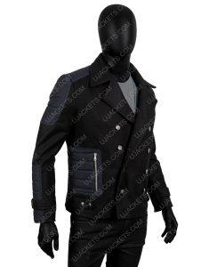 Men's Slim fit Winter Short Wool Blend Coat