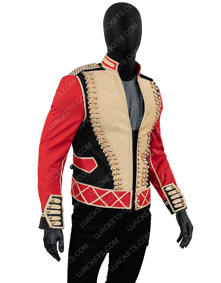 Michael Jackson Leave Me Alone Military Cotton Jacket