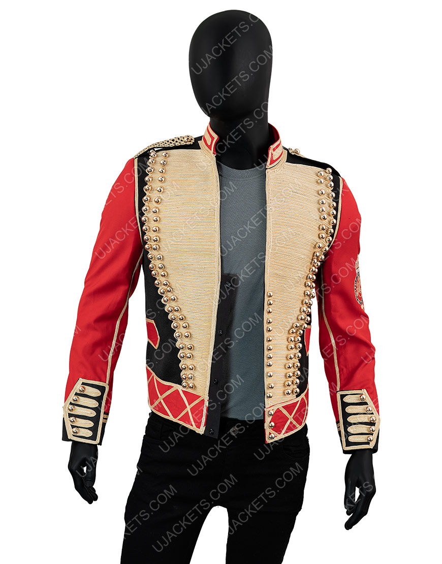 Michael Jackson Leave Me Alone Military Jacke
