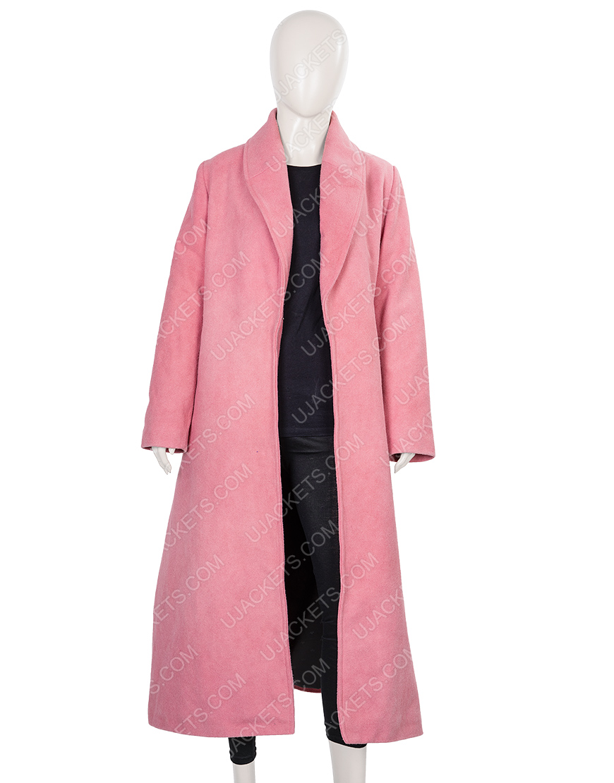 Midge Maisel Rachel Brosnahan Woolen Coat From The Marvelous Mrs.Maisel