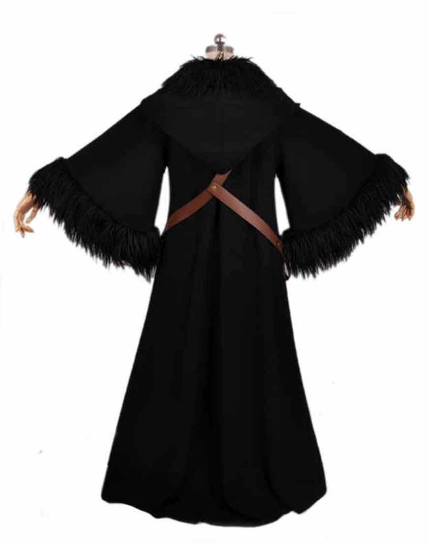 Movie-Wonder-Woman-Black-Cloak-Coat