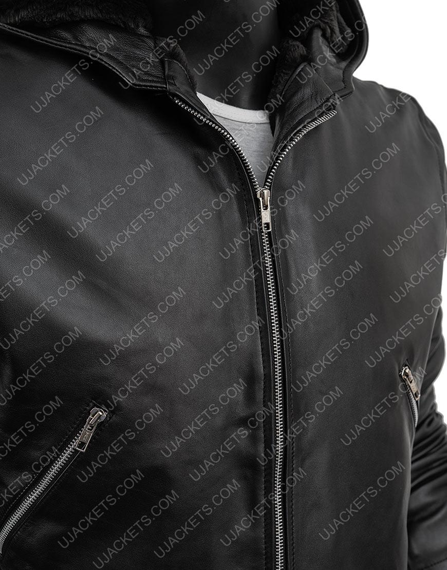 Power Tommy Egan Sheepskin Leather Jacket