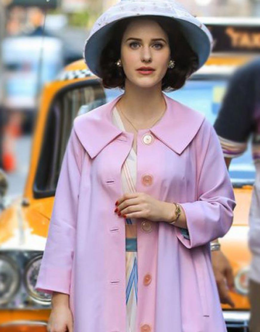 Rachel-Brosnahan-Light-Pink-Coat