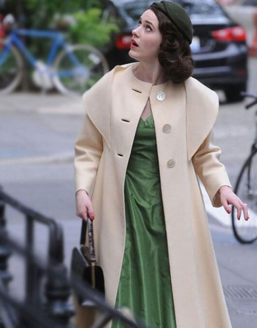 Rachel-Brosnahan-Marvelous-Mrs-Maisel-Beige-Coat