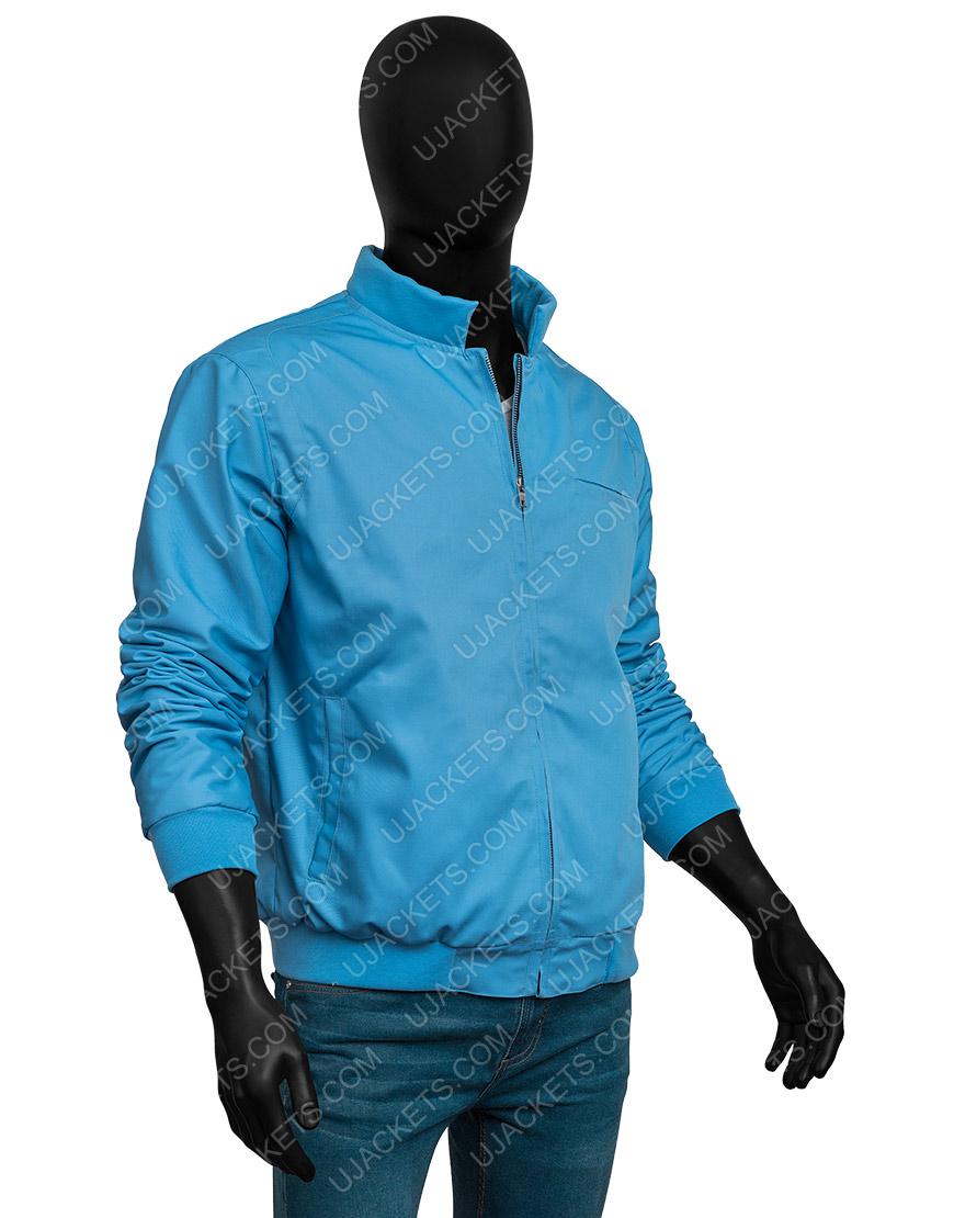 Ryan Reynolds Blue Free Guy Jacket