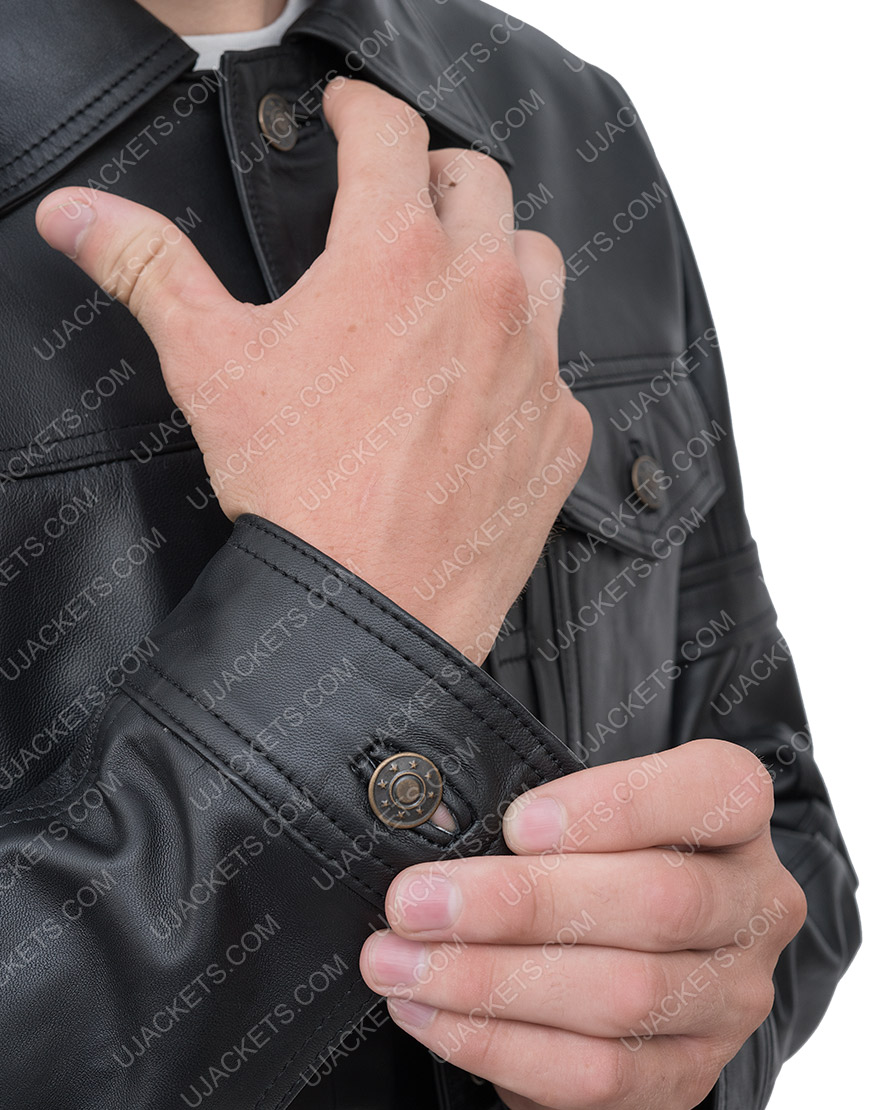 Sebastian The Falcon And The Winter Soldier Leather Jacket