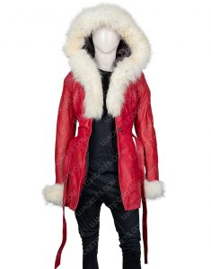 The Christmas Chronicles Goldie Hawn Red Coat