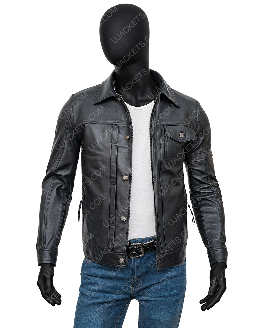 The Falcon And The Winter Soldier Sebastian Black Jacket