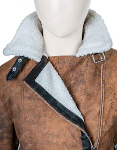 Virgin River Melinda Brown Shearling Jacket