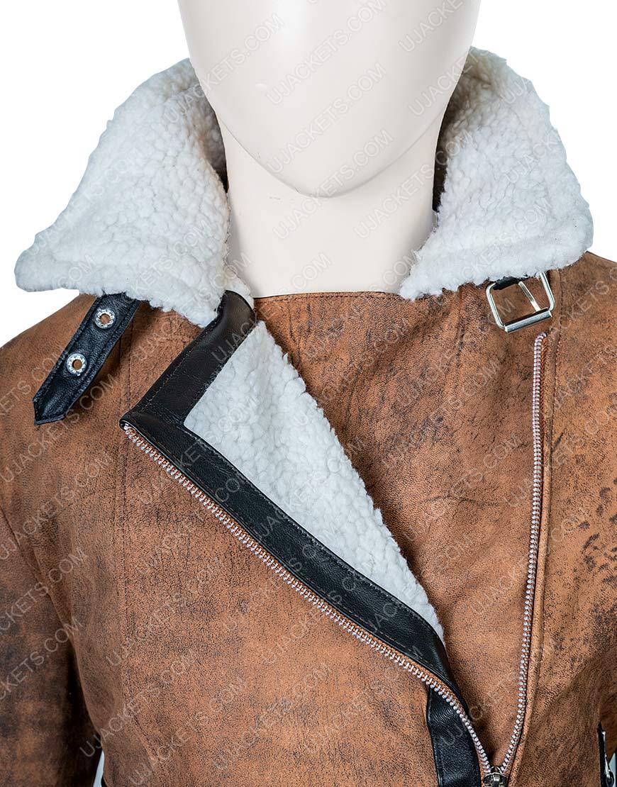 Virgin River Melinda Brown Shearling Jacket