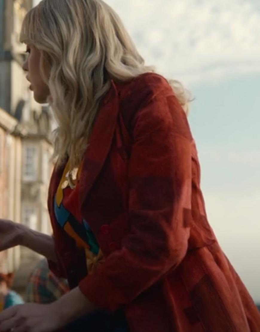 Aimee Gibbs Sex Education Season 2 Aimee Lou Wood Red Velvet Jacket