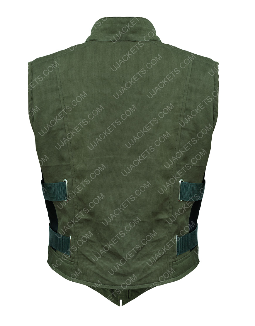 Black Widow 2020 Yelena Belova Black Cotton Vest