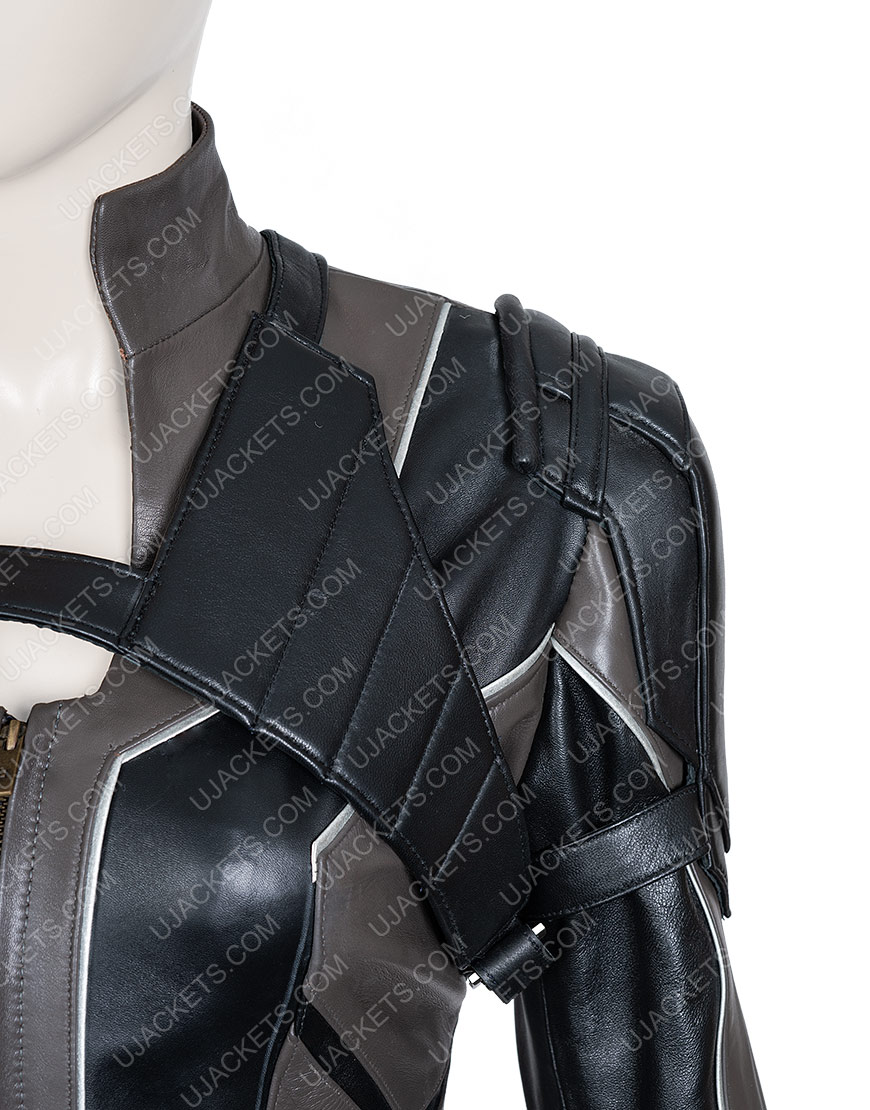 Black Widow Movie 2020 Black Jacket