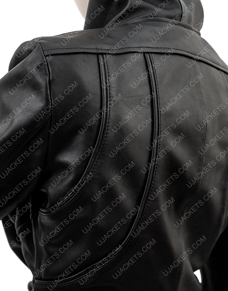 Breakfast Radio Show Kym Marsh Black Leather Jacket