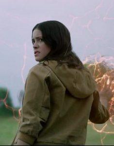 Danielle-Moonstar-The-New-Mutants-Brown-Bomber-Jacket