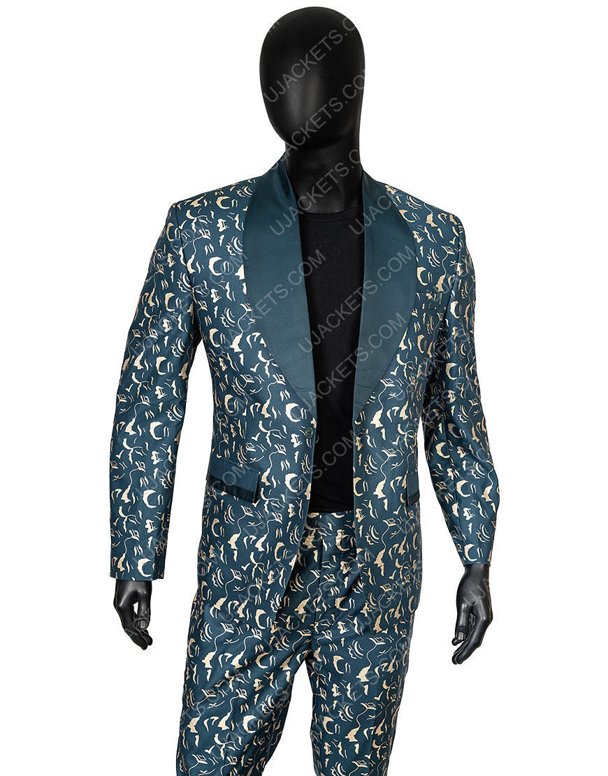 Ewan McGregor Birds Of Prey Black Mask Suit