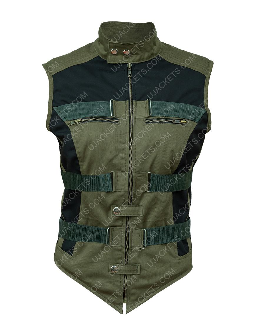 Florence Pugh Black Widow 2020 Yelena Belova Cotton Vest