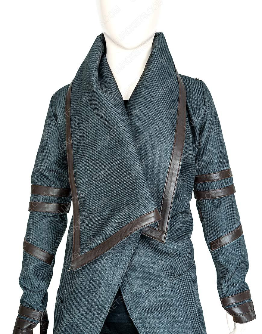 Isa Briones Star Trek Picard Dahj Hooded Coat