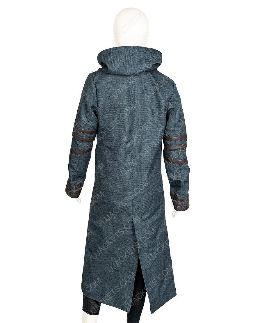 Isa Briones Star Trek Picard Dahj Woolen Coat
