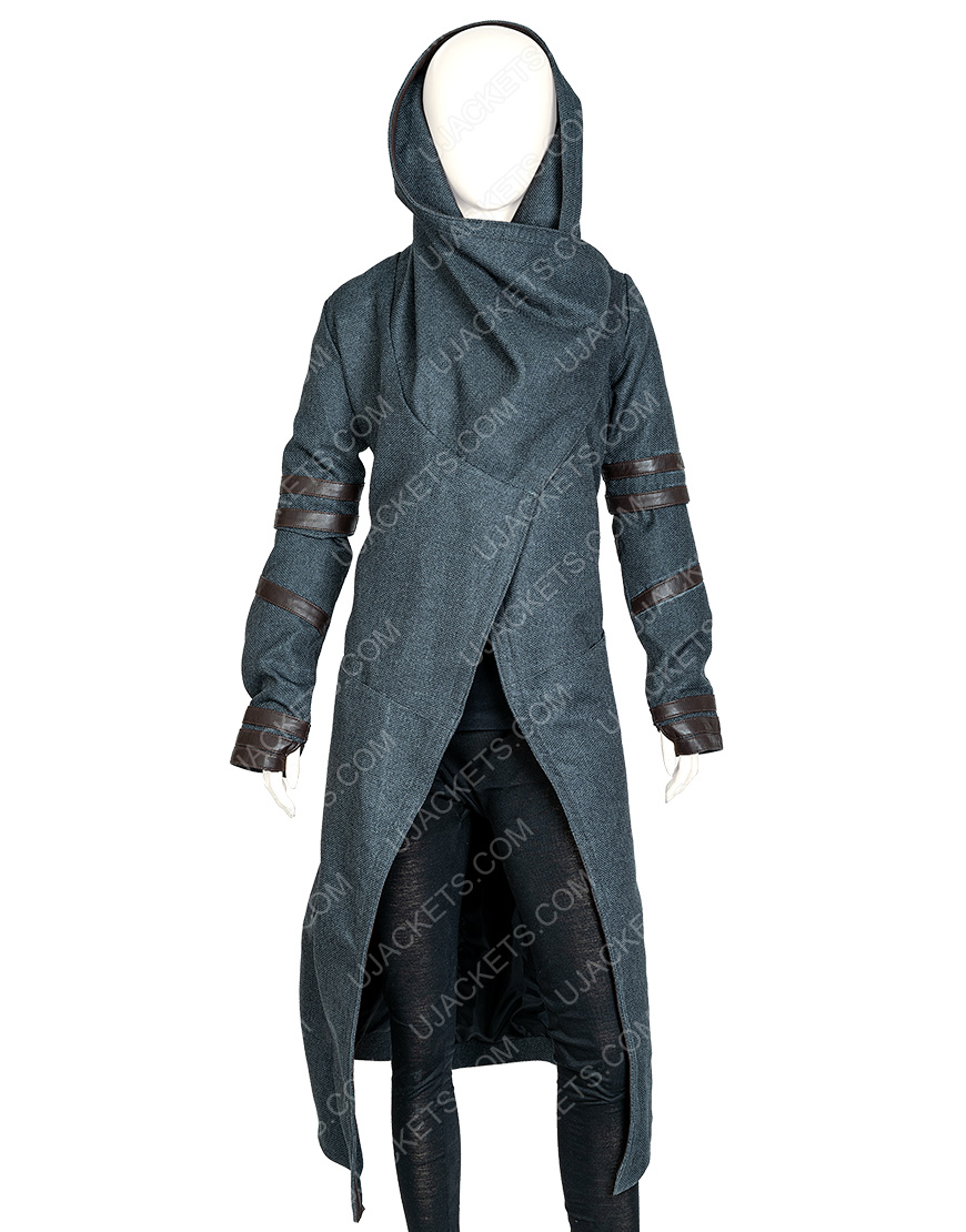 Isa Briones Star Trek Picard Dahj Woolen Hooded Coat