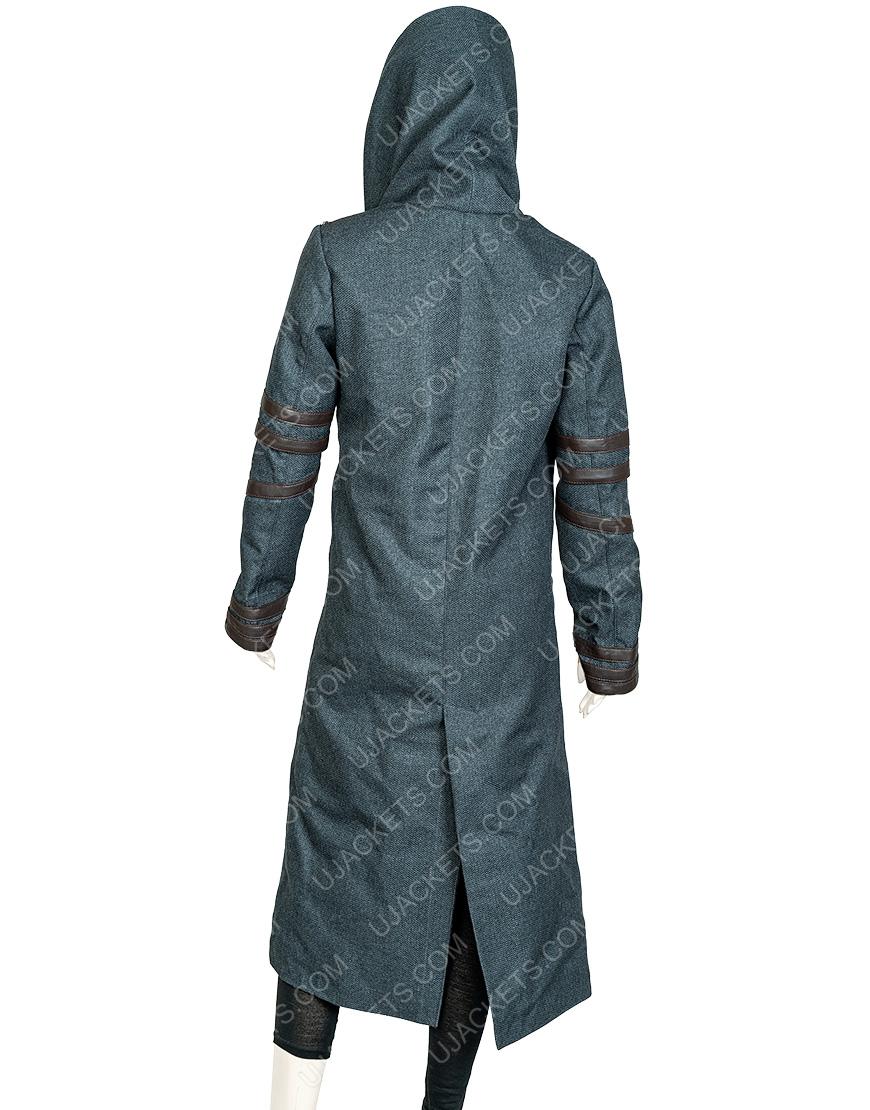 Isa Briones Star Trek Picard Woolen Hooded Coat