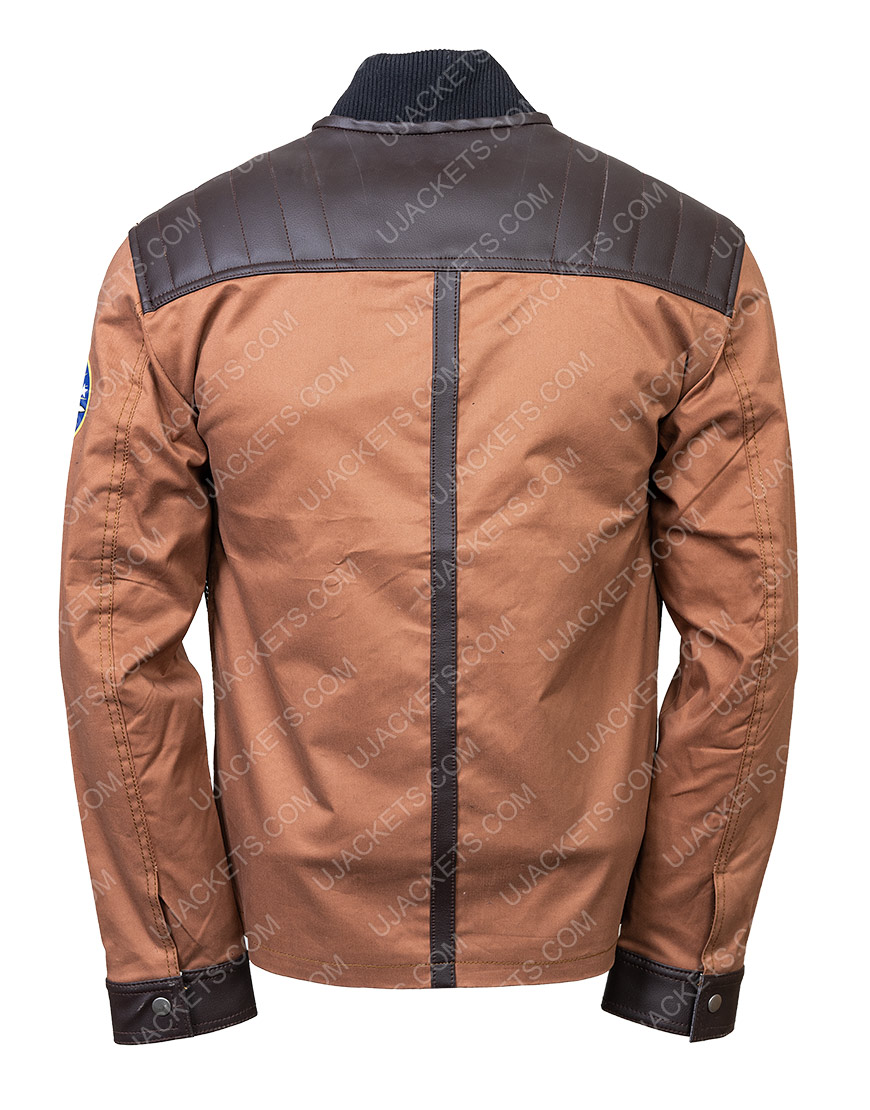 Maxwell Jenkins Lost In Space Will Robinson Brown Jacket