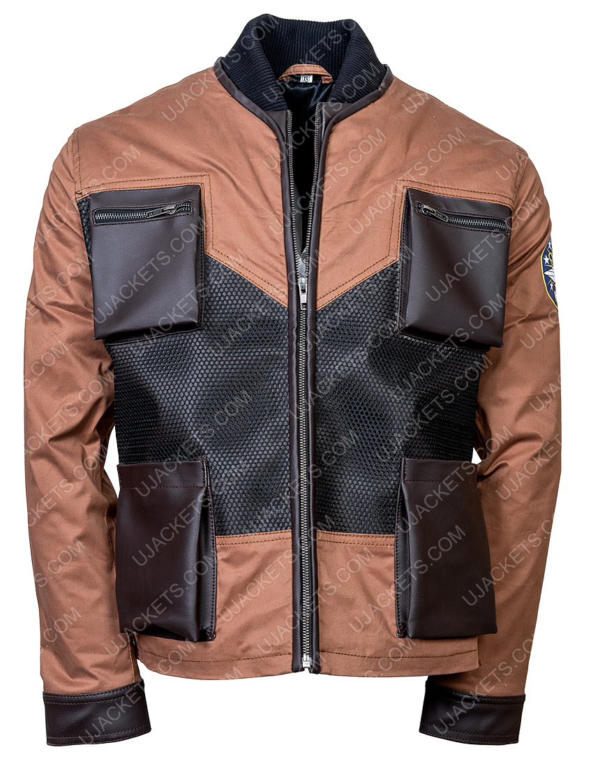 Maxwell Jenkins Lost In Space Will Robinson Leather Jacket