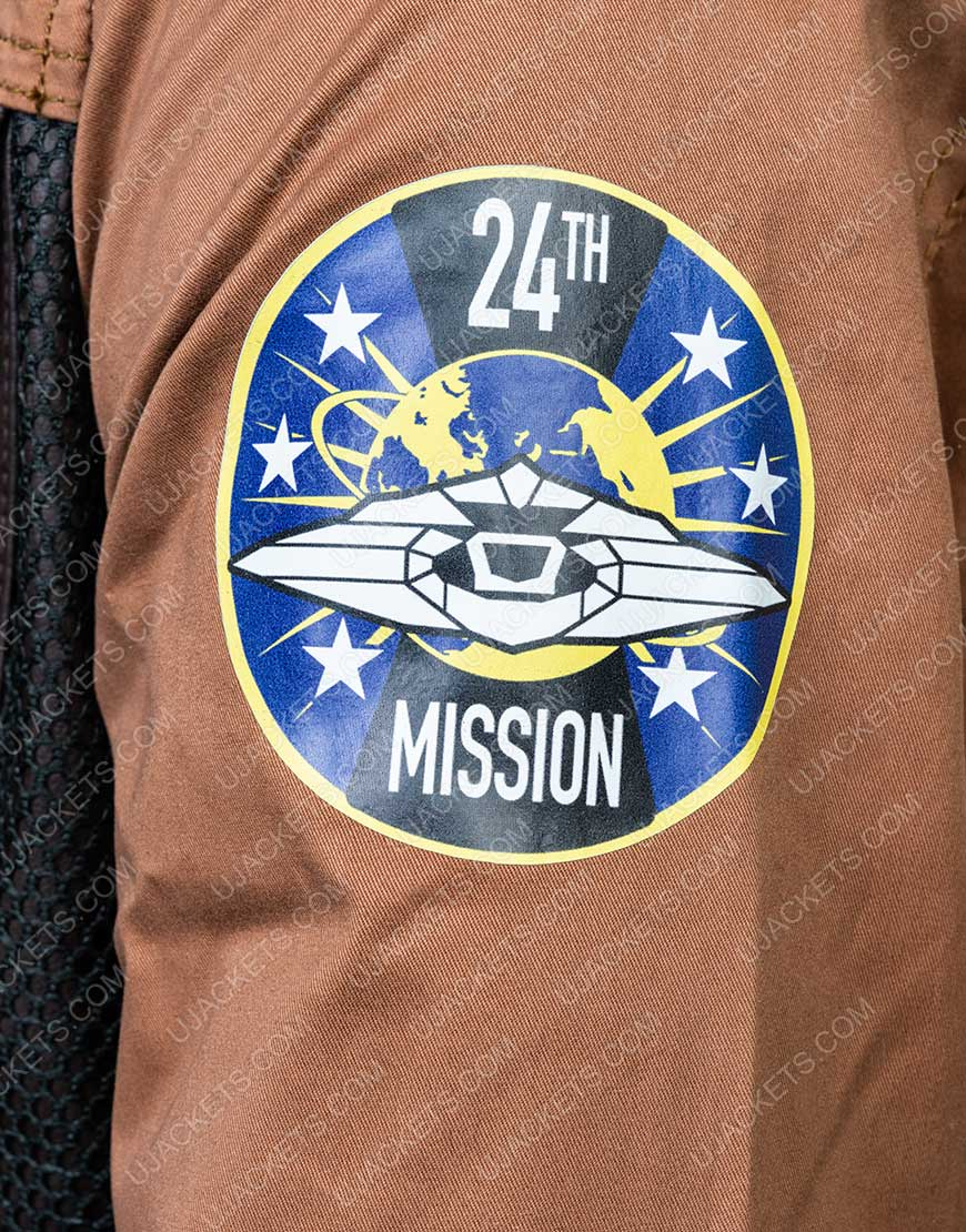 Maxwell Lost In Space Will Robinson Brown Leather Jacket