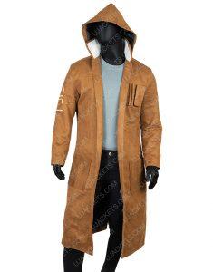 Oscar Issac Poe Dameron Star Wars The Rise Of Skywalker Brown Leather Coat