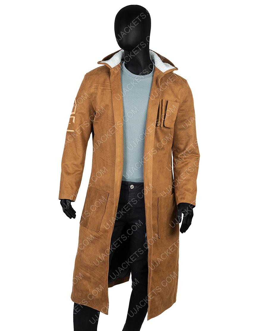 Oscar Issac Poe Dameron Star Wars The Rise Of Skywalker Leather Coat