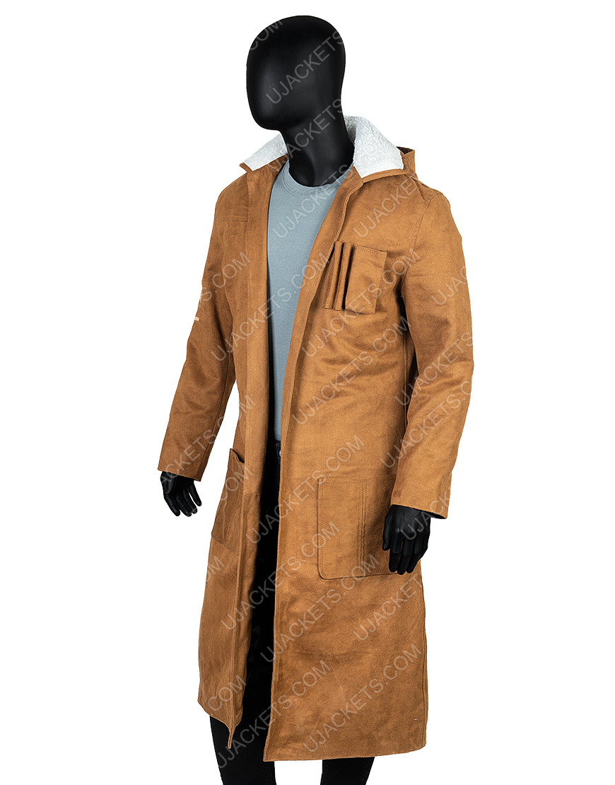 Oscar Issac Star Wars The Rise Of Skywalker Brown Coat