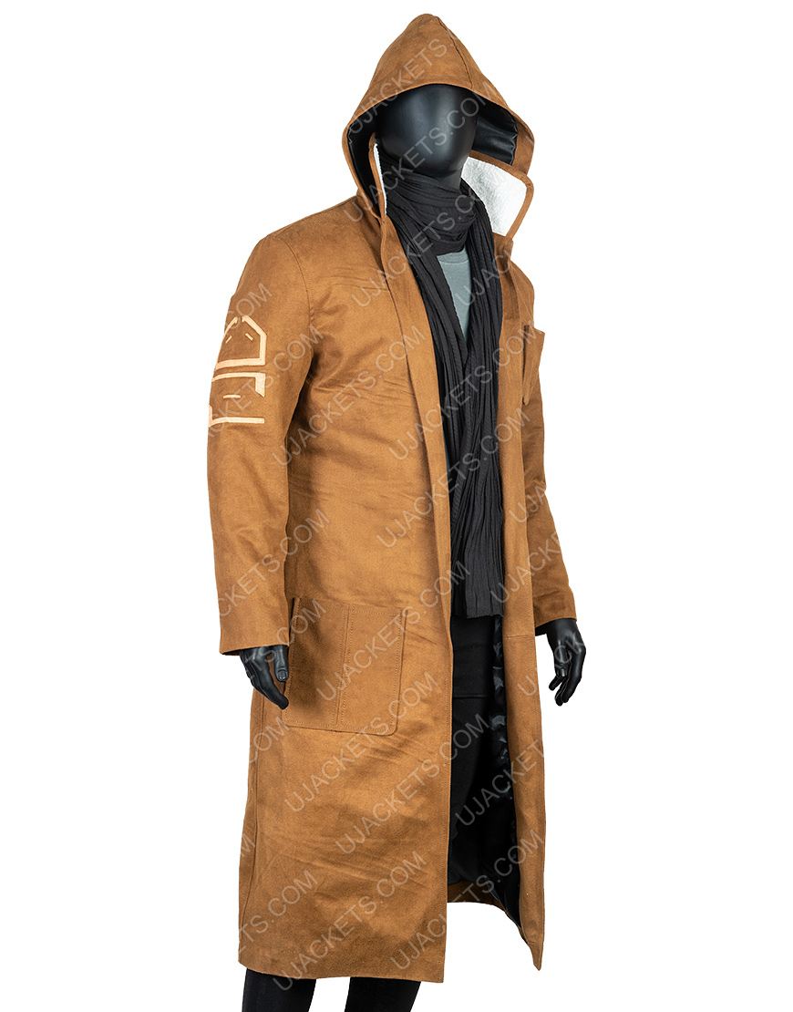 Poe Dameron Star Wars The Rise Of Skywalker Brown Leather Coat