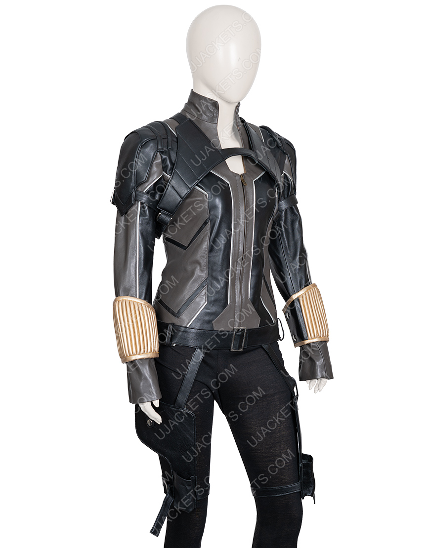 Scarlett Johansson Black Widow Movie Jacket