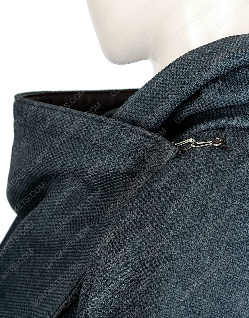 Star Trek Picard Dahj Woolen Hooded Coat