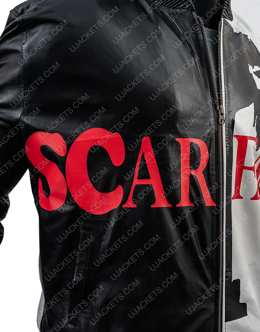 Tony Montana Scarface Black Jacket