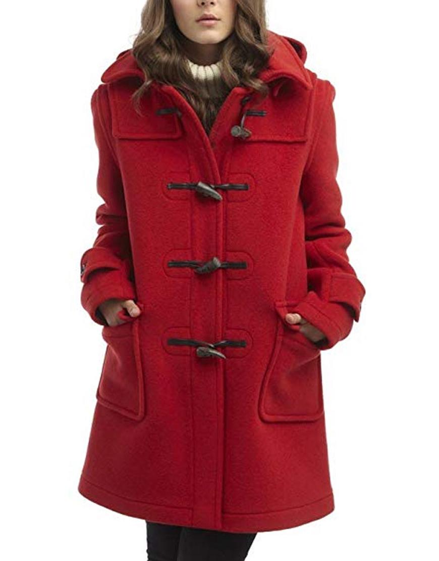 To All the Boys P.S. I Still Love You Lara Jean Red Coat