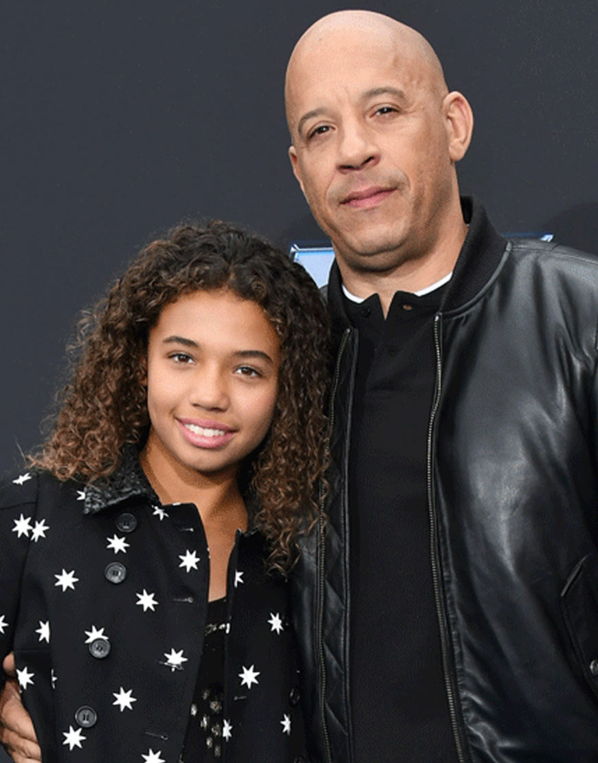 33 (9)44 (9)Fast And Furious 9 Vin Diesel Black Leather Jacket
