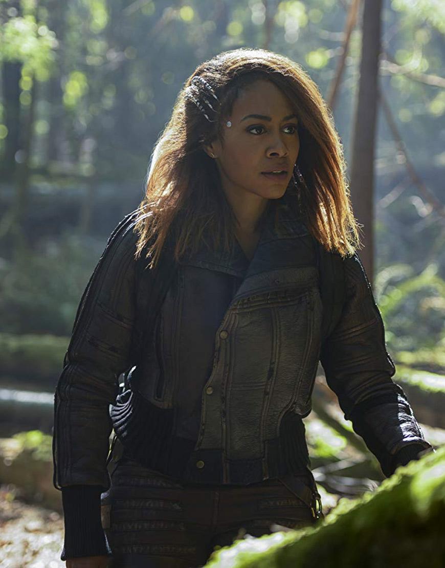 Altered Carbon Season 2 Simone Missick Leather Jacket