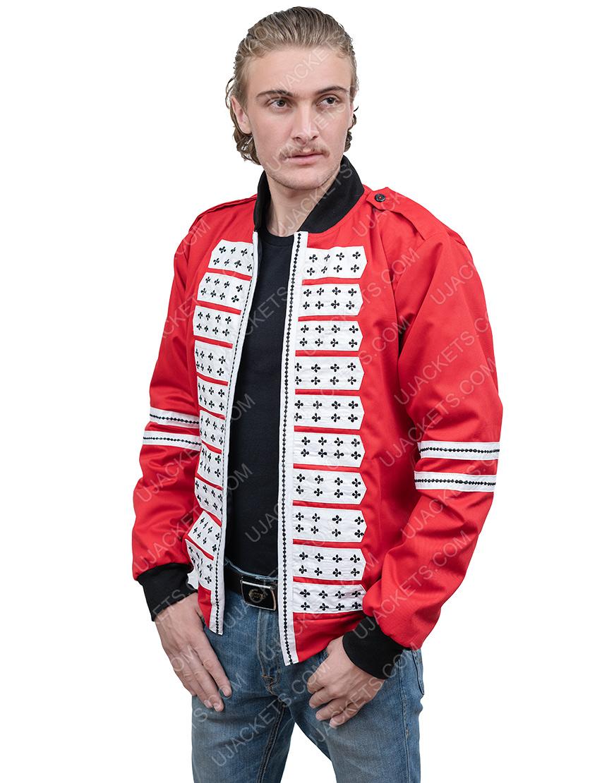 BTS Band J.Hope Red Satin Jacket