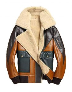 Bomber-Shearling-jacket